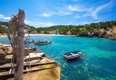 Ibiza Cala Vedella Vadella in San Jose at Balearics — Stock Photo