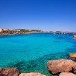 Ibiza Port des Torrent near San Antonio beach — Stock Photo