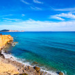 Ibiza Sa Caleta beach in south San Jose at Balearic — Stock Photo
