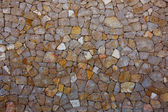Ibiza masonry wall detail of mediterranean stonewall — Stock Photo