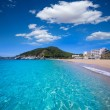 Ibiza cala San vicente beach san Juan at Balearic Islands — Stock Photo