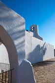Ibiza sant carles de peralta beyaz kilise balear — Stok fotoğraf