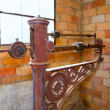 Стоковое фото: Steelyard roman balance romaine grunge antique