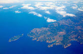 Aerial view of Majorca north of Malorca balearic — Stock Photo