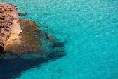 Cala Mitjaneta in Menorca Ciutadella at Balearics — Stock Photo