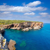 SAlgar beach Cala Rafalet in Menorca at Balearic Islands — Stockfoto