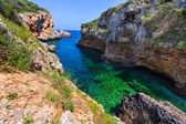 SAlgar beach Cala Rafalet in Menorca at Balearic Islands — Stock Photo