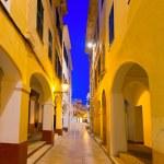 Ciutadella Menorca Ses Voltes arches Ciudadela — Stock Photo #35162439