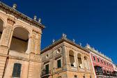 Ciutadella Menorca Placa des Born downtown Ciudadela — Stock Photo
