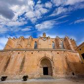 Ciutadella Menorca Cathedral in Ciudadela at Balearic — Stock Photo