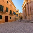 Ciutadella Menorca Cathedral at Ciudadela Balearic islands — Stock Photo