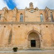 Stock Photo: CiutadellMenorcCathedral in Balearic islands