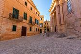 Ciutadella Menorca Cathedral at Ciudadela Balearic islands — Stock Photo