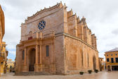 Ciutadella Menorca Cathedral in Ciudadela at Balearic — Stockfoto