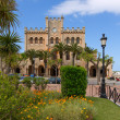 Ciutadella Menorca city Town Hall and gardens — Foto de Stock