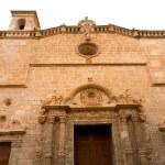 Menorca El Roser church in Ciutadella downtown at Balearics — Stock Photo #35181365