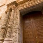 Menorca El Roser church in Ciutadella downtown at Balearics — Stock Photo #35181583