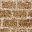 Menorccastle stonewall ashlar masonry wall texture — Stock Photo #35182195