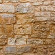 Menorca castle stonewall ashlar masonry wall texture — Stock Photo