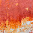 Menorca Ciutadella red grunge facade texture — Stock Photo