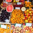 Mediterranean summer fruits in Balearic Islands market — Stock Photo