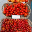 Stock Photo: Mediterranetomatoes in Balearic Islands market