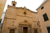 Menorca El Roser church in Ciutadella downtown at Balearics — Stock Photo