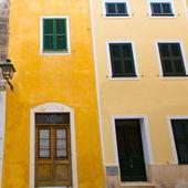 Menorca Ciutadella historical downtown at Balearics — Stock Photo