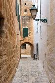 Menorca Ciutadella carrer del Palau at Balearics — Stock Photo