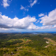 Menorca North aerial view from Pico del Toro — Stock Photo