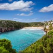 Cala en Porter beautiful beach in menorca at Balearics — Stock Photo
