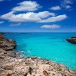 Menorca Platja es Calo Blanc in Sant Lluis at Balearic islands — Stock Photo