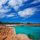 Menorca Cala des Talaier beach in Ciutadella at Balearic — Stock Photo