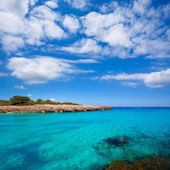Menorca Cala des Talaier beach in Ciutadella at Balearic — Stock Photo