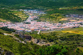 Menorca es Mercadal aerial view from Pico del Toro — Stockfoto