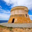 Torre de Fornells tower in Menorca at Balearic islands — Stock Photo