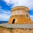 Torre de Fornells tower in Menorca at Balearic islands — Stock Photo #35207941