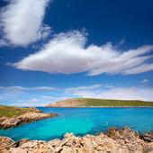 Cap de Fornells cape in Menorca at Balearic islands — Stock Photo