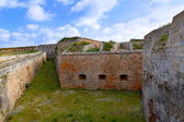 Menorca La Mola Castle fortress in Mahon at Balearics — Stock Photo