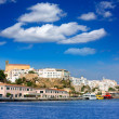 Mao Port of Mahon in Menorca at Balearic islands — Stock Photo