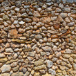 Masonry stonewall typical from Mediterranean in Menorca — Stock Photo