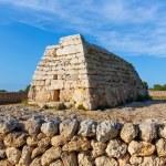 Menorca Ciutadella Naveta des Tudons megalithic tomb — Stock Photo