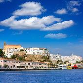 Mao Port of Mahon in Menorca at Balearic islands — Stock Photo