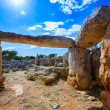 Taules of Menorca Torre de Gaumes Galmes at Balearics — Stock Photo