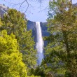 Yosemite Bridalveil fall waterfall California — Stock Photo #35701207
