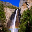 Yosemite Bridalveil fall waterfall California — Stock Photo #35702003