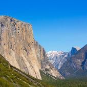 Yosemite el Capitan in California National Parks — Stock Photo