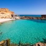 Formentera Es Calo des Mort beach turquoise Mediterranean — Stock Photo #36033015