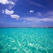 Formentera Cala Saona beach Balearic Islands — Stockfoto #36038867