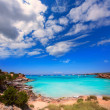 Formentera Cala Saona beach Balearic Islands — Стоковая фотография